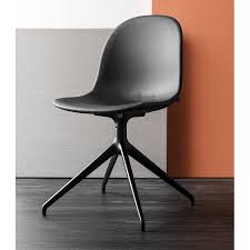 plastic swivel chair connubia calligaris academy cb 1694 360 swivel chair metal and