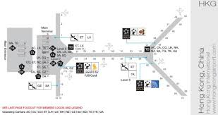 Hong Kong International Airport Floor Plan Staralliance Reference Guide 2011 All You Need To Know About