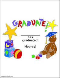 preschool graduation certificate pre school kindergarten graduation certificate abcteach