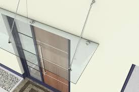 glass door canopies glass door canopy durovin bathroom