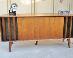 Mid Century Console Table Mid Century Console Etsy