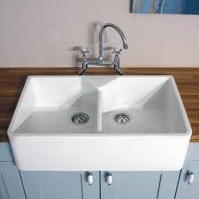 white double kitchen sink stainless steel double belfast sink uk sink ideas