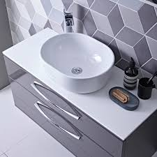 Bathroom Vanity Unit Worktops Scheme 1000 Wall Mounted Basin Unit With Double Drawer Roper Rhodes