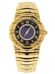 piaget tanagra piaget tanagra ref 575855 18k yellow gold size mechanical