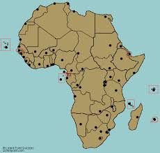 west africa map quiz test your geography knowledge africa capital cities quiz