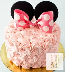 minnie mouse cakes celebration cakes bittersweet