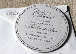 save the date coasters custom letterpress coasters sesame letterpress design
