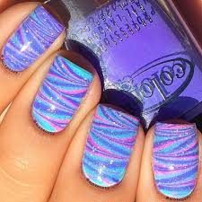 40 best nail polish designs to try in 2017 water marble nail art