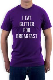 Meme Tshirts - i eat glitter for breakfast t shirt funny meme hipster style