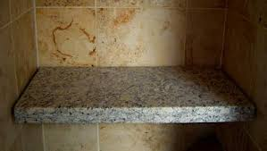 Bathroom Shower Bench Cecilia Granite Floating Shower Seat
