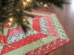 quilted christmas welcome to the christmas in july home décor edition tree skirts