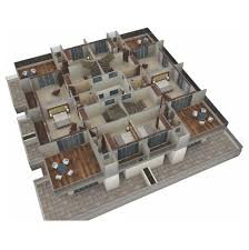 isometric floor plan coral gardens square bungalow scheme