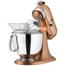 5 Quart Kitchenaid Mixer by Kitchenaid Ksm152pscp Satin Copper Custom Metallic Series 5 Qt