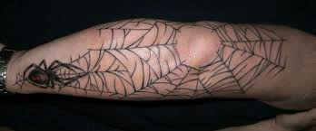 18 spider web tattoos with dark and light meanings spider web