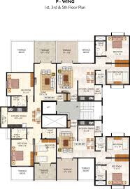 Icon Condo Floor Plan by Overview Rose Icon Pimple Saudagar Gk Developer Pimple