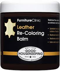 what is the best furniture restorer furniture clinic leather recoloring balm 8 5 fl oz leather color restorer for furniture repair leather color on faded scratched leather couches