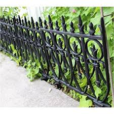 amazon com victorian garden fence heavy antique style old