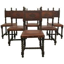 dining chairs wonderful modern design spanish colonial carved