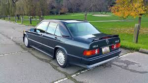 rare cars super clean mercedes benz 190e 2 3 16v rare cars for sale