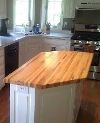 kitchen kitchen island butcher block in top butcher block
