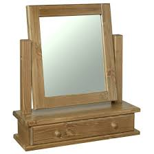 dressing table with mirror and drawers glendale solid pine dressing table mirror with drawer oak furniture uk