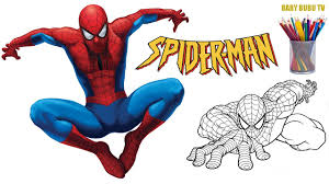 spiderman coloring book super coloring pages for kids youtube