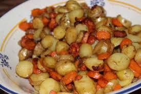 comment cuisiner les pommes de terre de noirmoutier recette carottes et pommes de terre nouvelles sautées toutes les