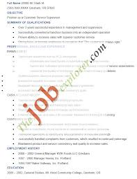 generic resume objective examples construction supervisor resume template resume cover letter example operations supervisor resume