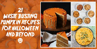 21 waste busting pumpkin recipes for halloween and beyond olio