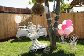 Backyard Tea Party - onederland first birthday tea party project nursery