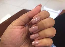 Light Pink Acrylic Nails Nail Removal Then A Full Set Of Light Pink Acrylic Nails With A