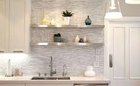 Backsplash Tile For White Kitchen White Gray Marble Mosaic Tile Backsplash With Regard To