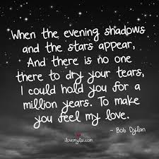 Love And Stars Quotes by Make You Feel My Love I Love My Lsi