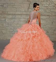 coral quince dress quinceanera dresses coral and white 2016 2017 b2b fashion