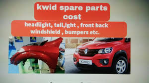 kwid renault price renault kwid spare parts cost headlight taillight fender