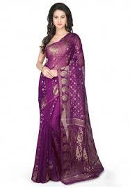 bangladeshi jamdani saree online buy jamdani sarees and jamdani silk sarees online utsav fashion