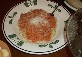 Olive Garden Five Cheese Marinara - spaghetti 5 cheese marinara picture of olive garden myrtle beach