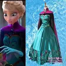 Queen Elsa Halloween Costume Frozen Party Snow Queen Elsa Cosplay Body Coronation