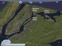 New York Islands Map by New York City In Simcity Randall U0027s Wards And Riker U0027s Island