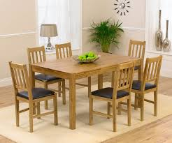 solid oak table with 6 chairs mark harris promo promo solid oak dining table with 6 chair