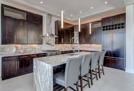 kitchen island contemporary beautiful waterfall kitchen islands countertop designs