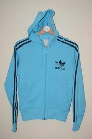 light blue adidas hoodie vintage second hand adidas sportswear free delivery my retro