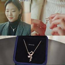 anime ring necklace images New hot 1pcs korea god alone and brilliant goblin necklace key jpg