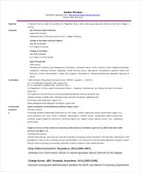 Resume For Charge Nurse Nurse Resume Templates Free Word Pdf Documents Creative Template