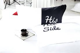 his and hers pillow cases idea his and hers pillow cases or side his side couples bedding
