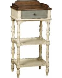 ivory accent table amazing deal hand painted distressed weathered ivory finish accent