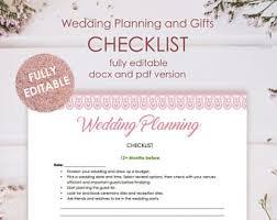 wedding checklist wedding checklist etsy