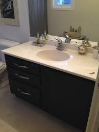 bathroom concrete vanity sink galvanized tub with drain vintage