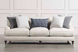 egan sofa w reversible chaise egan ii cement sofa w reversible chaise living spaces living