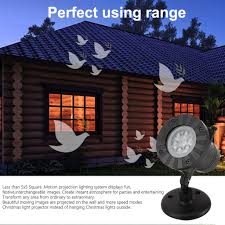 Led Snowflake Lights Outdoor by 12 Slides Outdoor Snowflake Christmas Tree Santa Laser Light Projector